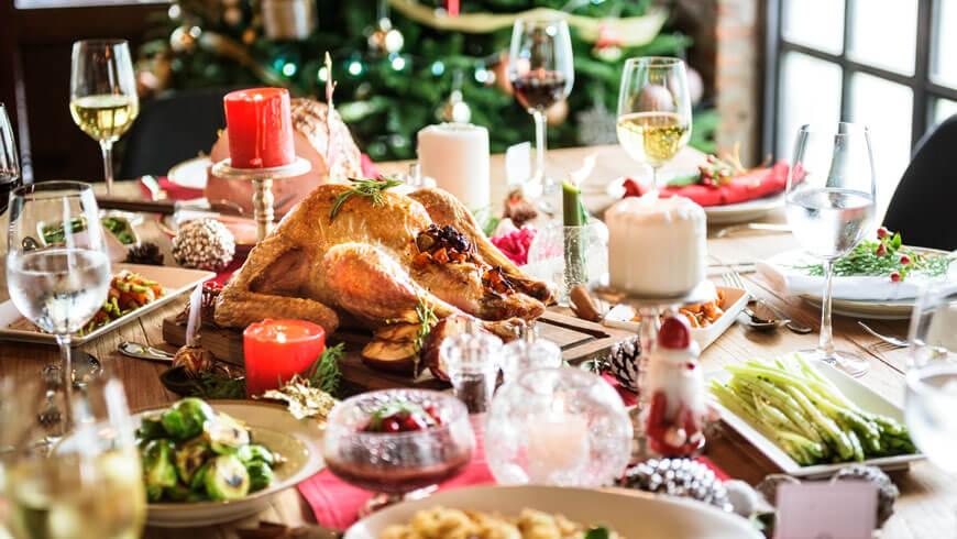 Problemas digestivos durante las navidades