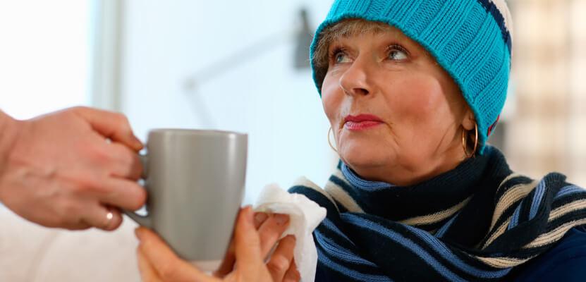Consejos para combatir la llegada del frío en mayores